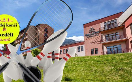 Bowling či squash v GRAND HOTEL BELLEVUE**** v Tatrách
