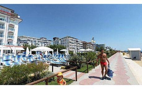 Itálie - Lido di Jesolo na 8 dní, polopenze s dopravou vlastní přímo na pláži