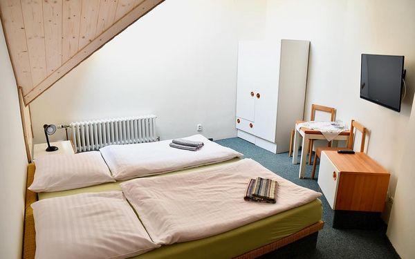 Dvoulůžkový pokoj s manželskou postelí nebo oddělenými postelemi a sdílenou koupelnou na chodbě4