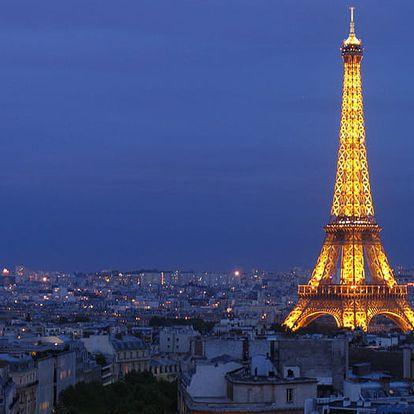 4-denní poznávací zájezd do Paříže uprostřed léta termín 9 - 12.8.2018