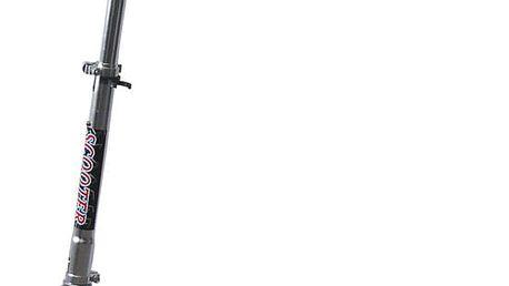 ACRA SCOOTER ALU stříbrná 100 mm CSK2