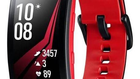 Samsung Gear Fit2 Pro vel. L (SM-R365NZRAXEZ) černý/červený
