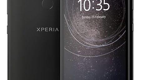 Mobilní telefon Sony Xperia L2 Dual SIM černý + dárek (1312-6656)