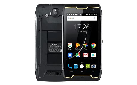 Mobilní telefon CUBOT King Kong Dual SIM (PH3777) černý + DOPRAVA ZDARMA