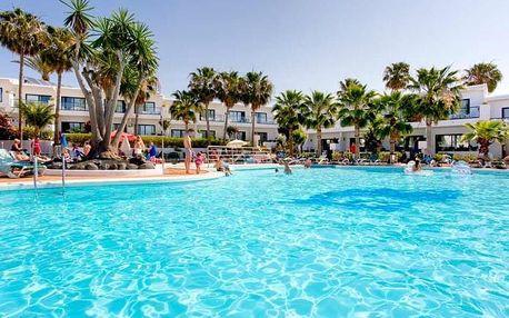 Kanárské ostrovy - Lanzarote na 8 dní, all inclusive, polopenze, snídaně nebo bez stravy s dopravou letecky z Prahy 1000 m od pláže