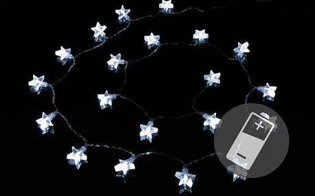 Nexos 1338 Vánoční osvětlení - hvězda - studené bílé