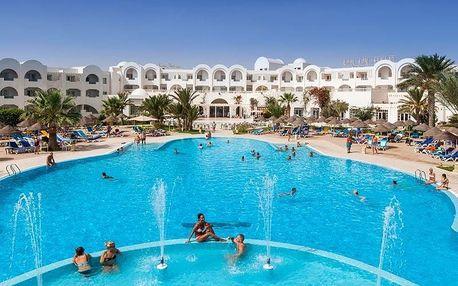 Tunisko - Djerba na 8 až 9 dní, all inclusive s dopravou letecky z Prahy přímo na pláži