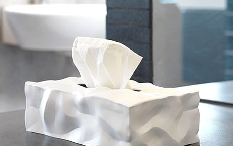 Bílý box na kapesníčky Essey Wipy II