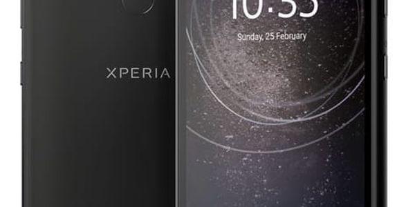 Mobilní telefon Sony Xperia L2 Dual SIM (1312-6656) černý Software F-Secure SAFE, 3 zařízení / 6 měsíců v hodnotě 979 Kč + DOPRAVA ZDARMA