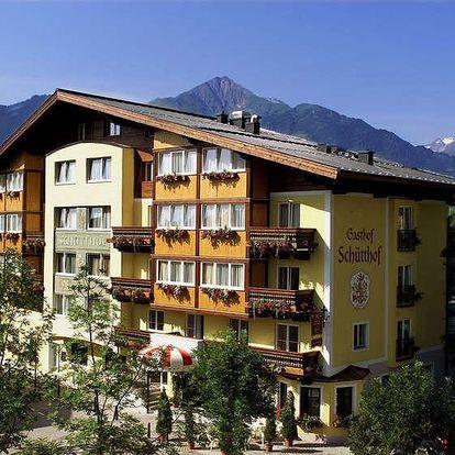 Rakousko - Kaprun / Zell am See na 2 až 3 dny, polopenze nebo snídaně s dopravou vlastní