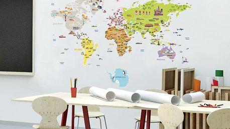 Samolepka Ambiance World Map