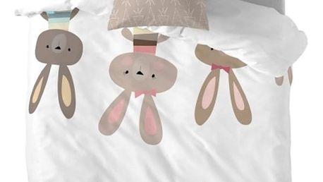 Povlečení Little W Rabbit, 140 x 200 cm