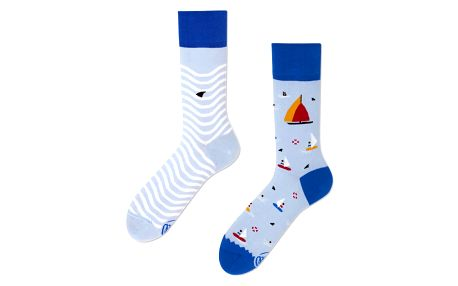 Ponožky Many Mornings Surf And Sail,vel.43–46