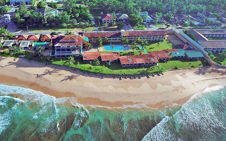 Srí Lanka - Koggala na 9 až 10 dní, snídaně s dopravou letecky z Prahy přímo na pláži