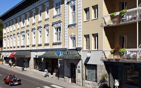 Slovinsko - Bled na 2 až 5 dní, polopenze s dopravou vlastní 250 m od pláže