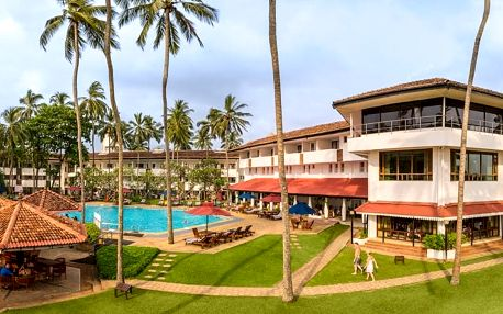 Srí Lanka - Kalutara na 7 až 10 dní, polopenze s dopravou letecky z Prahy přímo na pláži