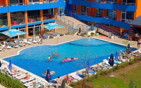 Bulharsko - Slunečné Pobřeží na 8 dní, polopenze nebo snídaně s dopravou letecky z Prahy, Budapeště nebo Sliače 300 m od pláže