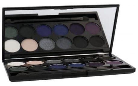 Sleek MakeUP I-Divine Eyeshadow Palette 13,2 g oční stín pro ženy 596 Bad Girl