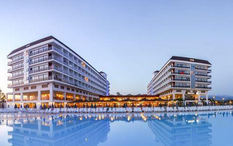 Turecko - Alanya na 4 až 8 dní, all inclusive nebo ultra all inclusive s dopravou letecky z Prahy 100 m od pláže