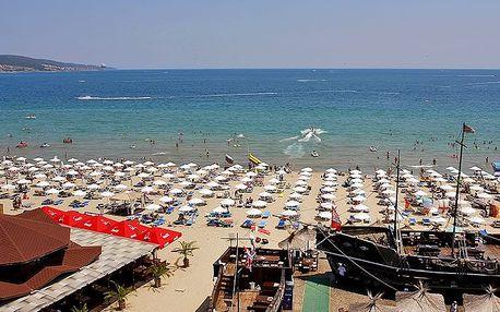 Bulharsko - Slunečné Pobřeží na 8 dní, all inclusive, polopenze nebo snídaně s dopravou letecky z Prahy 20 m od pláže