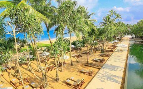 Srí Lanka - Induruwa na 10 dní, polopenze nebo snídaně s dopravou letecky z Prahy