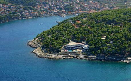 Chorvatsko - Hvar na 8 až 10 dní, light all inclusive, polopenze nebo bez stravy s dopravou autobusem, vlastní nebo letecky z Prahy 100 m od pláže