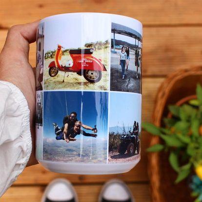 Hrníček s vaší fotkou za prázdninovou cenu