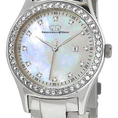 Dámské hodinky ve stříbrné barvě Rhodenwald & Söhn Donagina