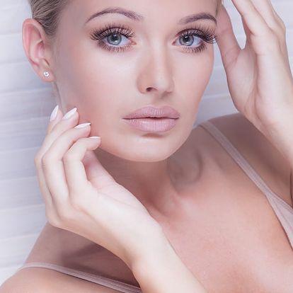 Kolagenové kosmetické ošetření pleti
