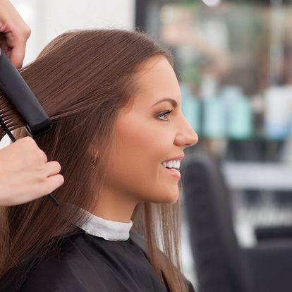 Hloubkové ošetření vlasů vč. nového střihu