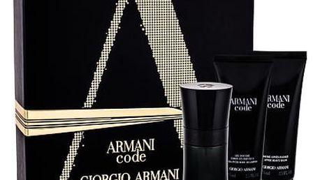 Giorgio Armani Armani Code Pour Homme EDT dárková sada M - EDT 50 ml + balzám po holení 75 ml + sprchový gel 75 ml
