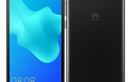 Mobilní telefon Huawei Y5 2018 Dual SIM černý + dárek (SP-Y518DSBOM)