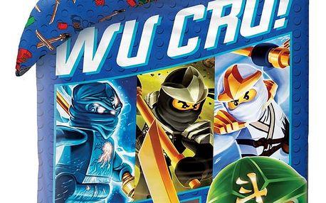 Halantex Dětské bavlněné povlečení Lego Wu Cru!, 140 x 200 cm, 70 x 90 cm