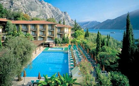 Itálie - Lago di Garda na 5 dní, all inclusive s dopravou vlastní 100 m od pláže