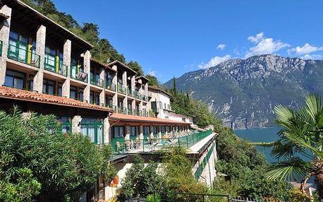 Itálie - Lago di Garda na 4 až 8 dní, polopenze s dopravou vlastní 1000 m od pláže