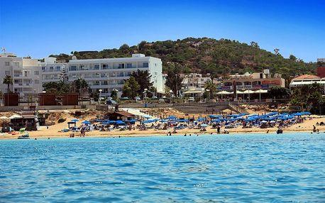 Kypr - Protaras na 8 až 12 dní, polopenze s dopravou letecky z Prahy 50 m od pláže