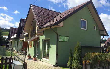 Penzion Zelený dom: Užijte si turistiku, zimní lyžovačku či relax v místních termálních lázních