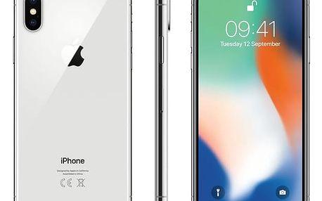 Mobilní telefon Apple iPhone X 64 GB - Silver (MQAD2CN/A) Software F-Secure SAFE, 3 zařízení / 6 měsíců v hodnotě 979 Kč + DOPRAVA ZDARMA