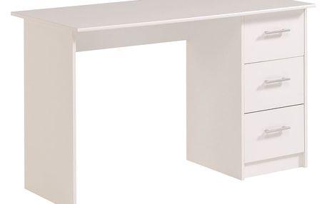Bílý pracovní stůl Parisot Orléans