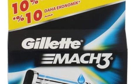 Gillette Mach3 4 ks náhradní břit pro muže