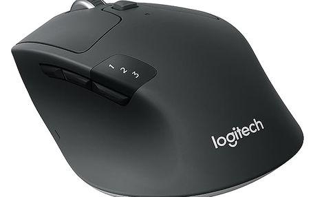 Myš Logitech Wireless Mouse M720 Triathlon černá (/ optická / 8 tlačítek / 1000dpi) (910-004791)