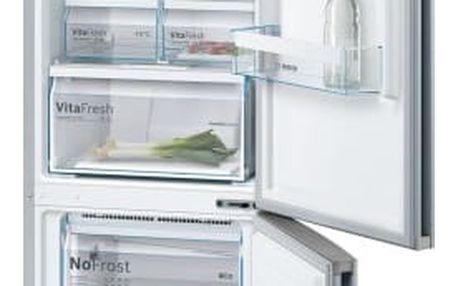 Chladnička s mrazničkou Bosch KGN39VL45 Inoxlook