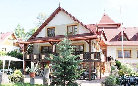 3–6denní wellness pobyt pro 2 s polopenzí ve vile Astra ve Vysokých Tatrách