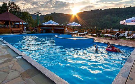 Stylový pobyt s polopenzí, wellness i bazénem