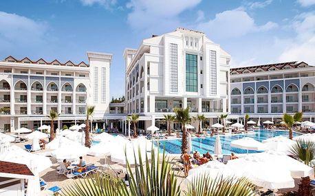 Turecko - Side na 7 až 15 dní, all inclusive s dopravou letecky z Prahy 350 m od pláže
