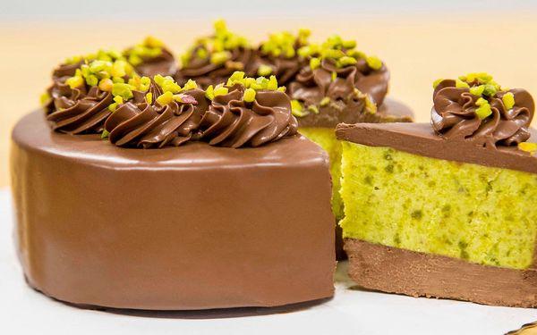 Dort Pistacchio: čokoláda a sicilské pistácie