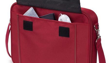Brašna na notebook DICOTA Multi BASE 14 - 15.6 červená (D30920)