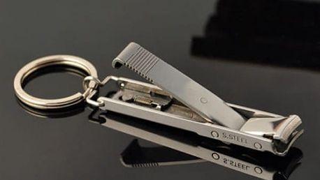 Nerezové kleštičky na nehty na klíče