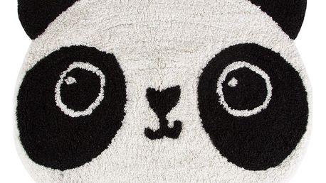 sass & belle Předložka s pandou, černá barva, bílá barva, textil