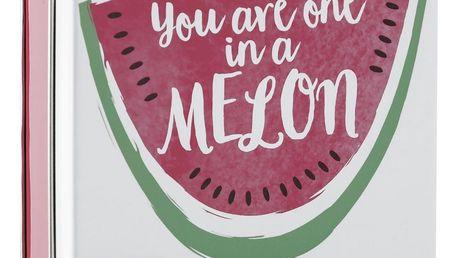 SCOTTISH FINE SOAPS Mýdlo v plechové krabičce Melon, růžová barva, bílá barva, kov